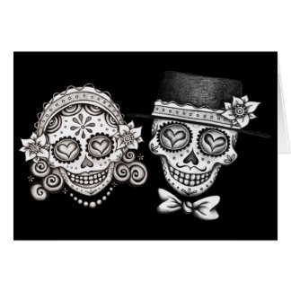 Los Novios - Day of the Dead Cards