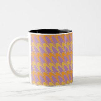 Los Ovals (orange/purple) Coffee Mug