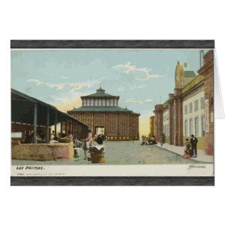 Los Palmas, Vintage Greeting Card