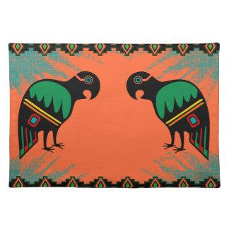 Los Papagayos - The Parrots Placemat