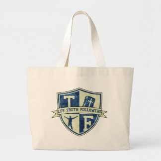 Los Truth Followers Badge Jumbo Tote Bag