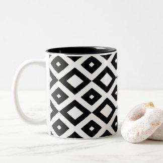 Losango Black Mug