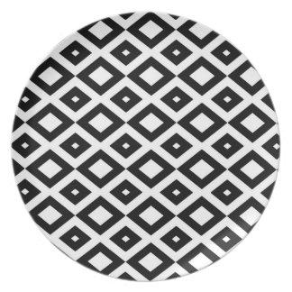 Losango Black Plate