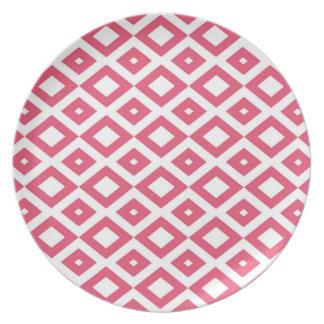 Losango Pink Plate