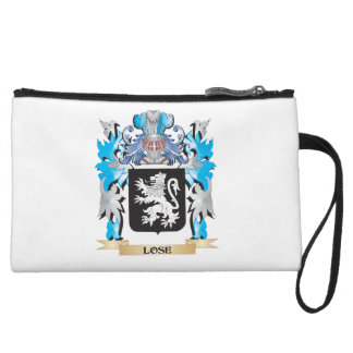 Lose Coat of Arms - Family Crest Wristlet Clutches