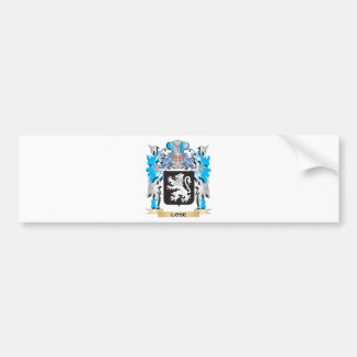Lose Coat of Arms - Family Crest Bumper Sticker