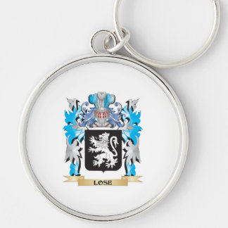Lose Coat of Arms - Family Crest Key Chain