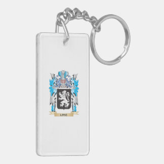Lose Coat of Arms - Family Crest Acrylic Key Chain
