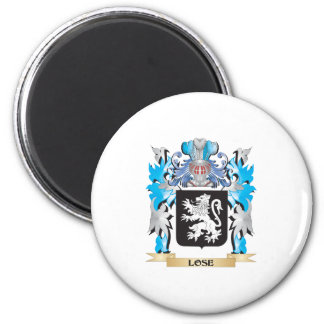 Lose Coat of Arms - Family Crest Magnets