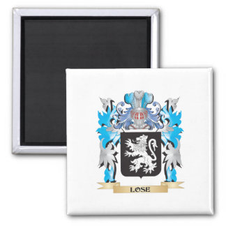 Lose Coat of Arms - Family Crest Refrigerator Magnet
