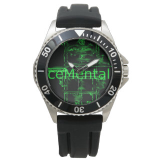 lose track of time with this ceMental watch! Watch