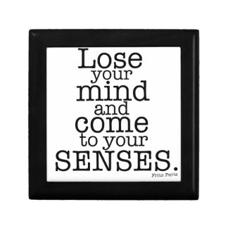 Lose your mind... small square gift box