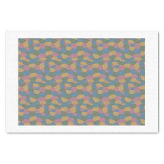 Losenge camouflage tissue tissue paper