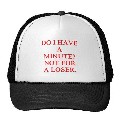 LOSER insult Hats