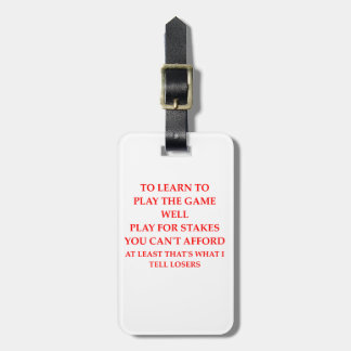 LOSERS LUGGAGE TAG