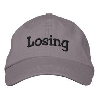 Losing Emboidered Hat Embroidered Hat
