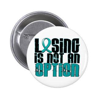 Losing Is Not An Option Batten Disease 6 Cm Round Badge