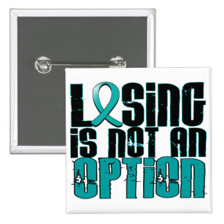 Losing Is Not An Option Batten Disease 15 Cm Square Badge