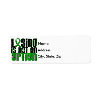 Losing Is Not An Option Gastroparesis Return Address Label