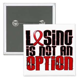 Losing Is Not An Option Stroke 15 Cm Square Badge