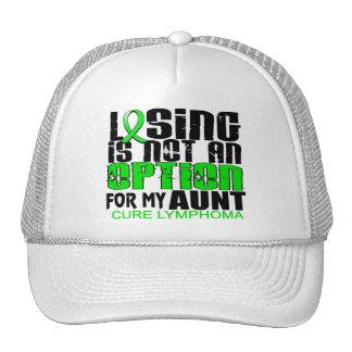 Losing Not Option Lymphoma Aunt Trucker Hats