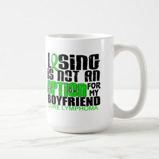 Losing Not Option Lymphoma Boyfriend Coffee Mug