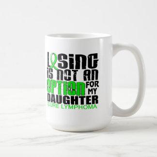 Losing Not Option Lymphoma Daughter Coffee Mug
