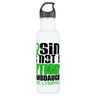 Losing Not Option Lymphoma Granddaughter 24oz Water Bottle