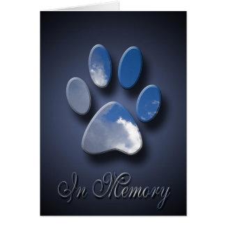 Loss Of Pet Card | Pet Death Sympathy