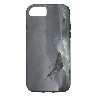 Loss of the Blanche, off Abrevack, 4th March, 1807 iPhone 7 Case