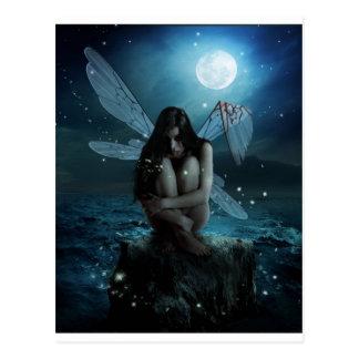 Lost and Broken Fairy Postcard