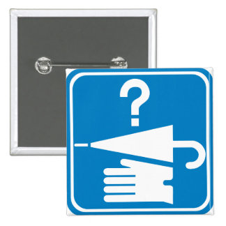 Lost and Found Desk Highway Sign Pin