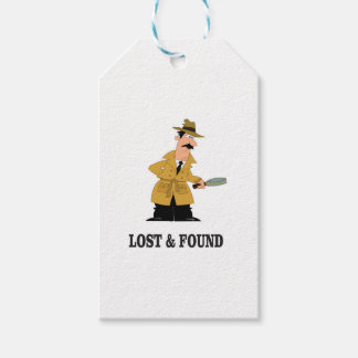 lost and found guy gift tags
