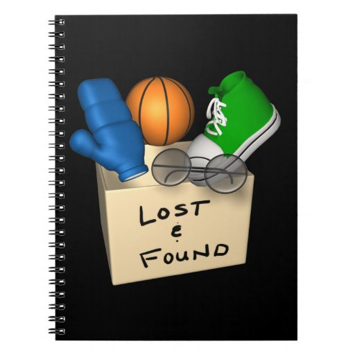 Lost And Found Note Books