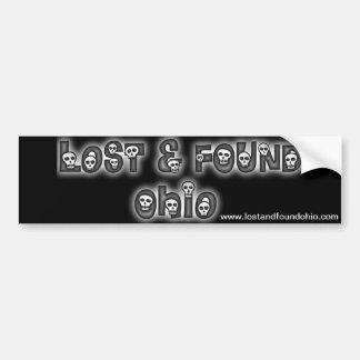 Lost and Found Ohio bumper sticker Car Bumper Sticker