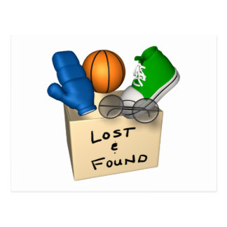 Lost And Found Postcard