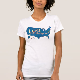 Lost and Loving It! Camisole T-Shirt