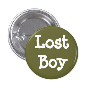 Lost Boy 3 Cm Round Badge