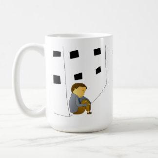 Lost boy coffee mug