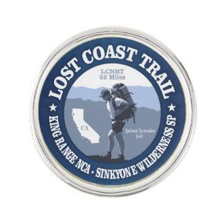 Lost Coast Trail (rd) Lapel Pin