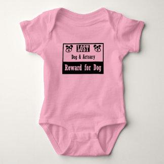 Lost Dog Actuary Baby Bodysuit