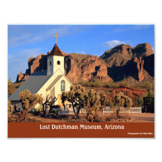 Lost Dutchman Museum Arizona 8x10 Glossy Photo