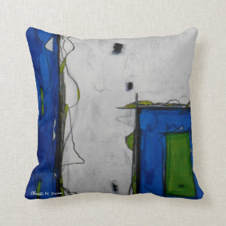 """Lost & Found"" Abstract Pillow"