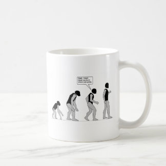 Lost in Evolution Coffee Mug