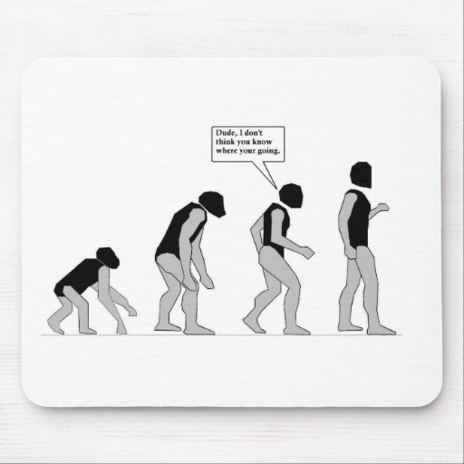 Lost in Evolution Mouse Pad