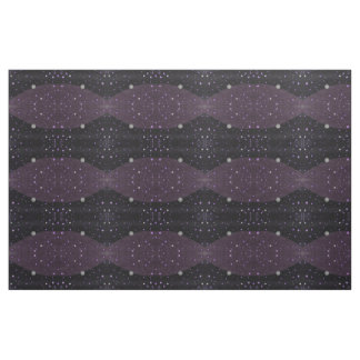 Lost in Midnight Charcoal Stars Fabric