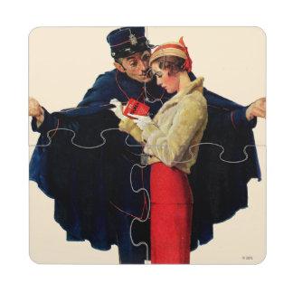 Lost in Paris Puzzle Coaster