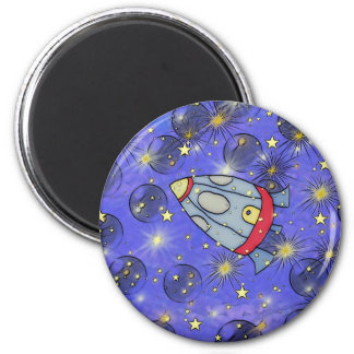 lost in space 6 cm round magnet