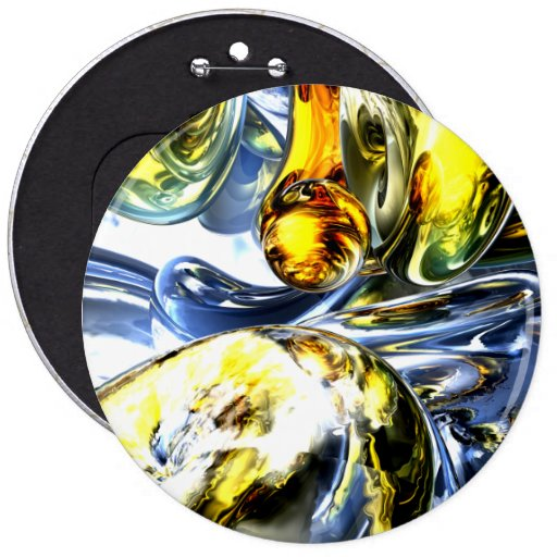 Lost in Space Abstract Pinback Buttons