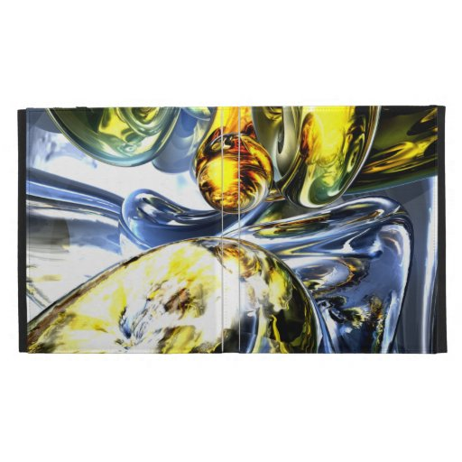 Lost in Space Abstract iPad Folio Cases